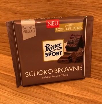 Ritter Sport : Schoko-Brownie