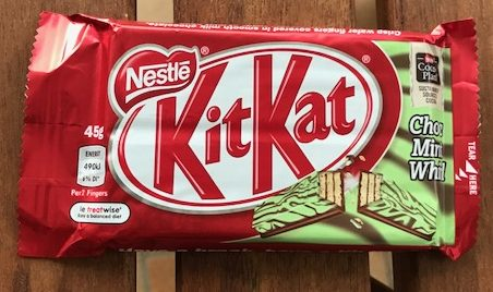 KitKat : Choc Mint Whirl