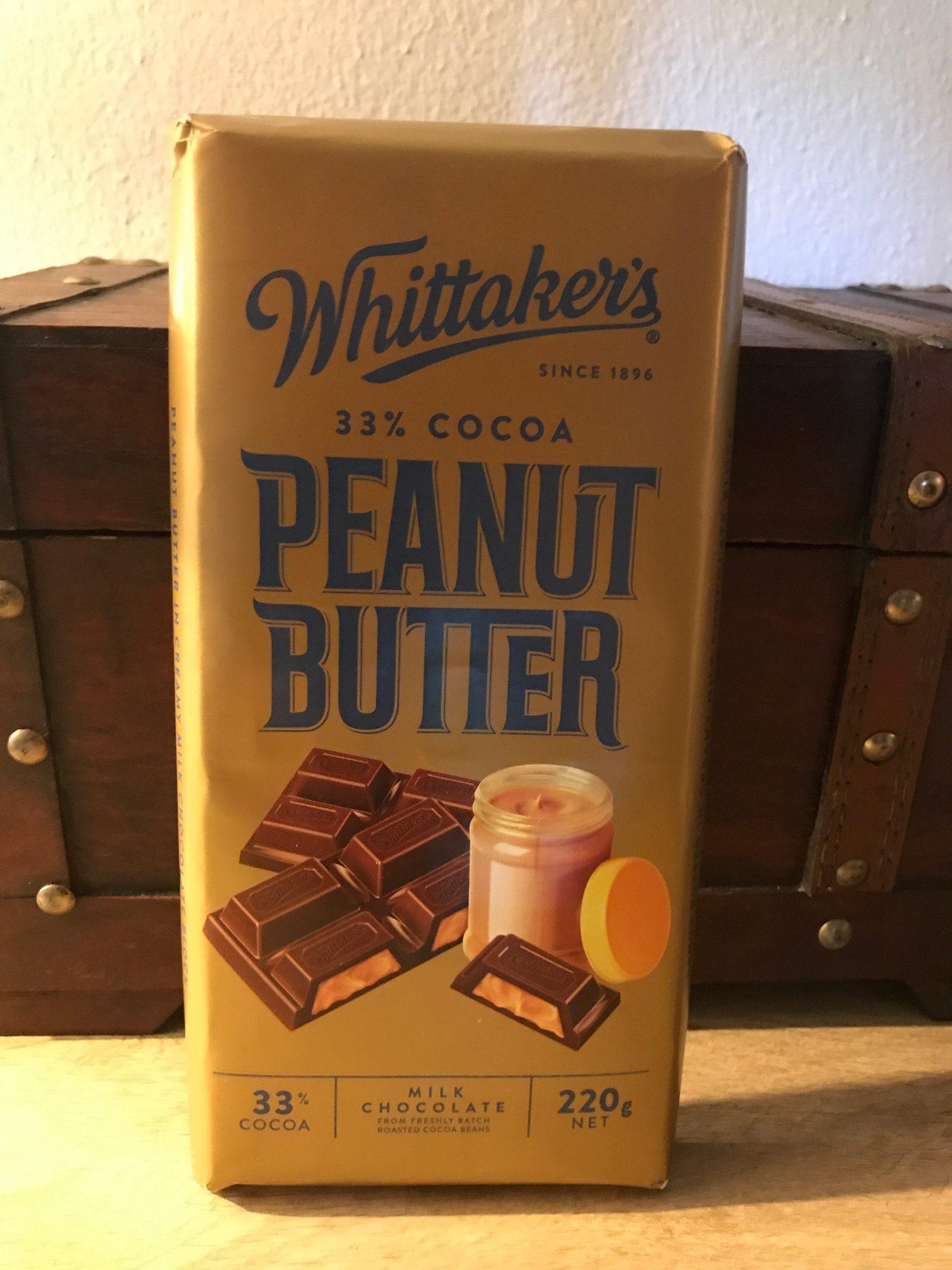 Whittaker`s : Peanut Butter