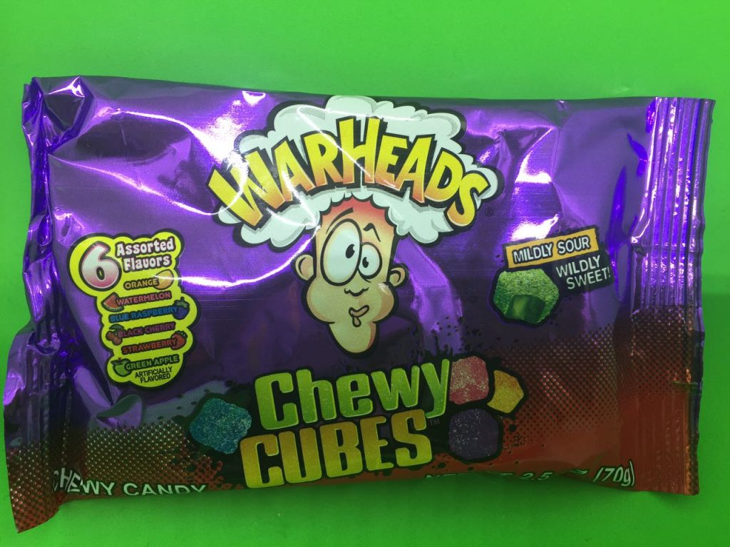 Warheads : Chewy Cubes