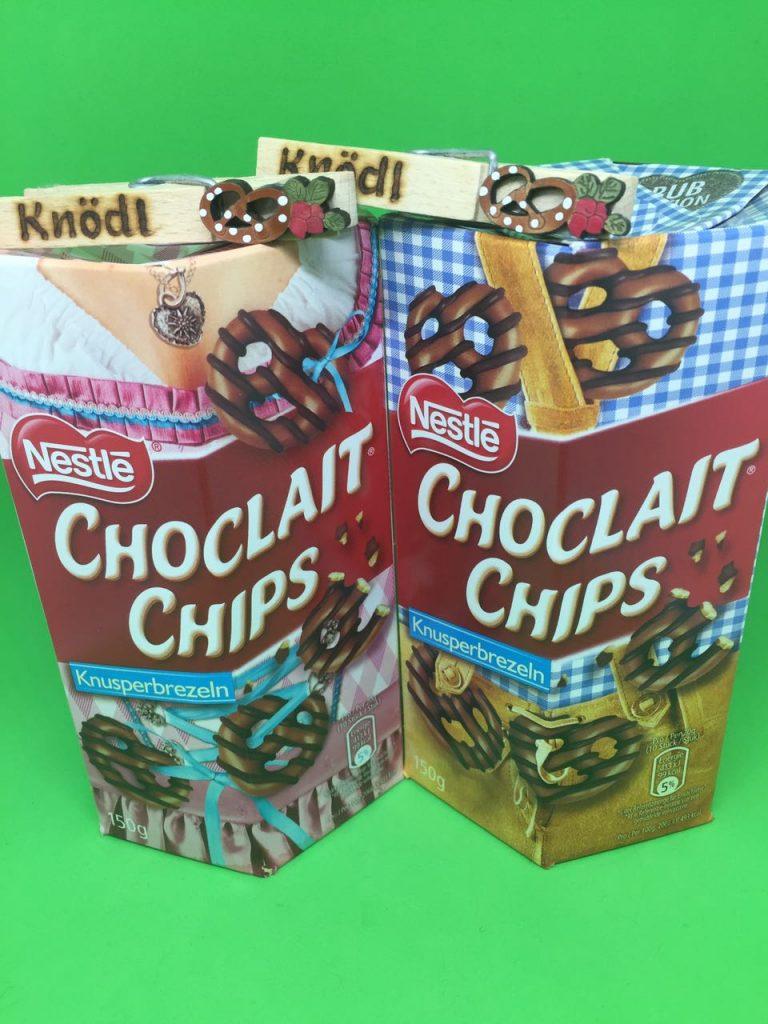 Choclait Chips : Knusperbrezeln