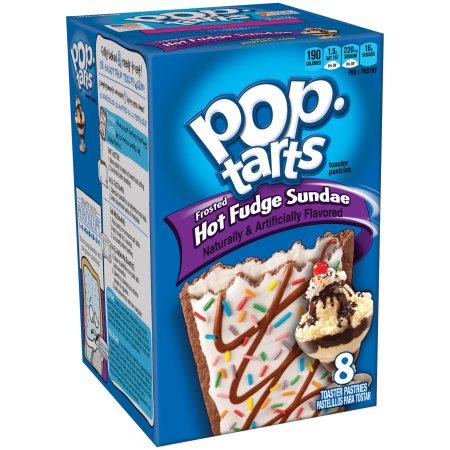 pop tarts : Hot Fudge Sundae