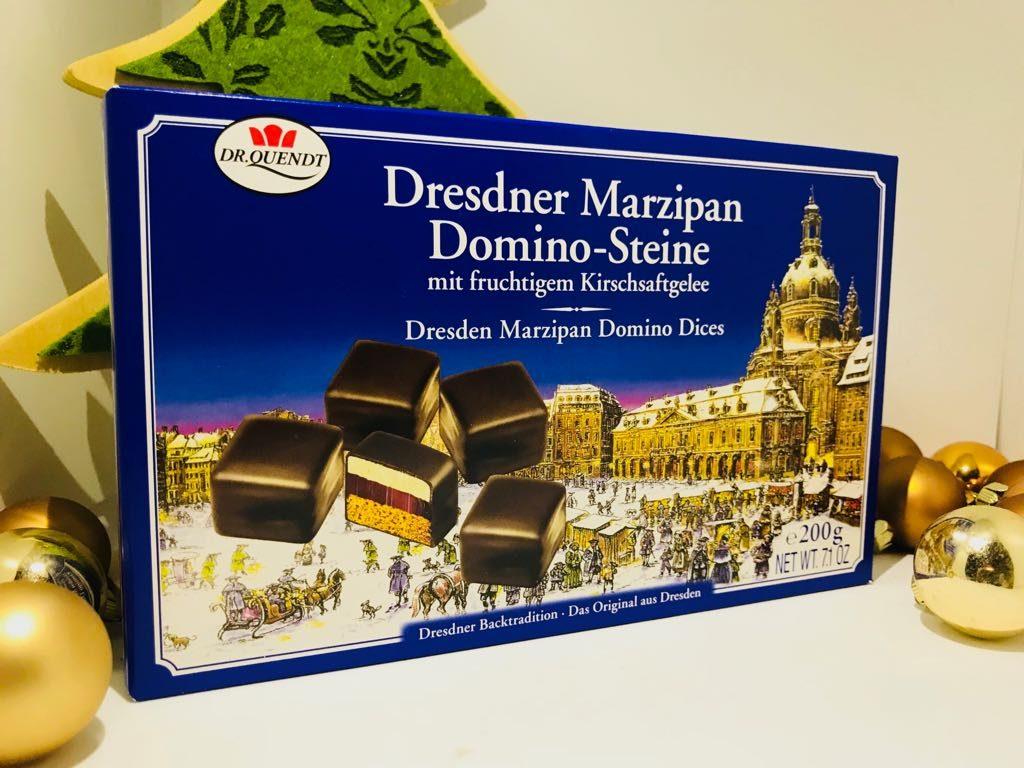 Dresdner Marzipan Domino-Steine