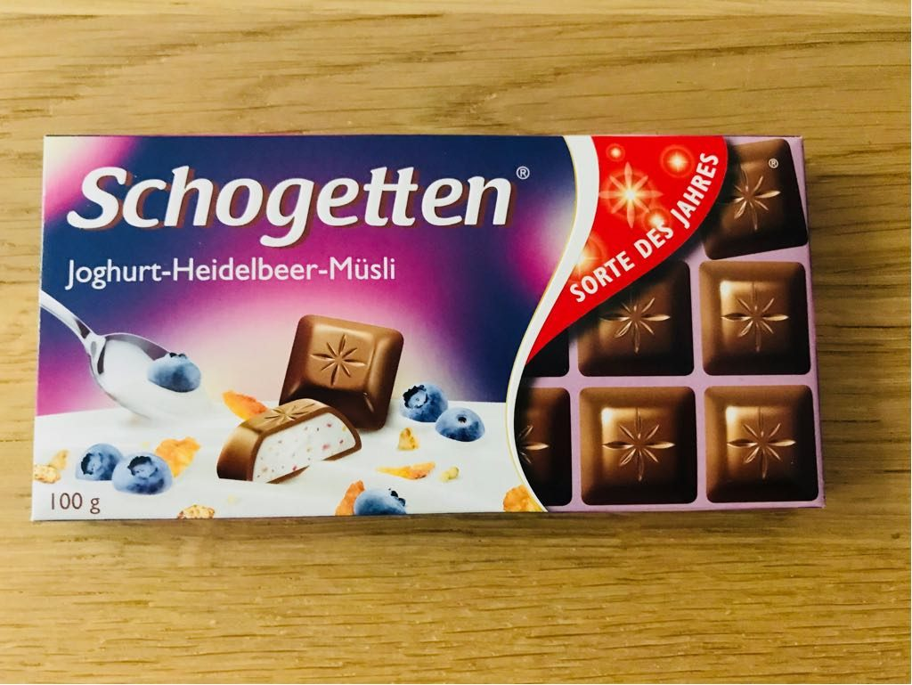 Schogetten Joghurt-Heidelbeer-Müsli