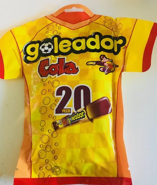 Goleador : Cola